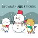 Download Cute Wallpaper Snowman and Friends Theme APK