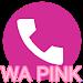 Download WA theme pink APK